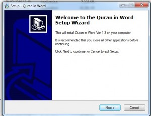 Al Quran in the Word 1