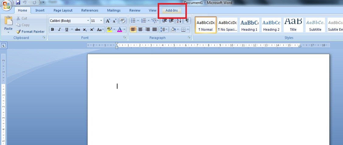 "Menginstal ""Al Qur'an in the Word"" di Ms Office Word 2007"