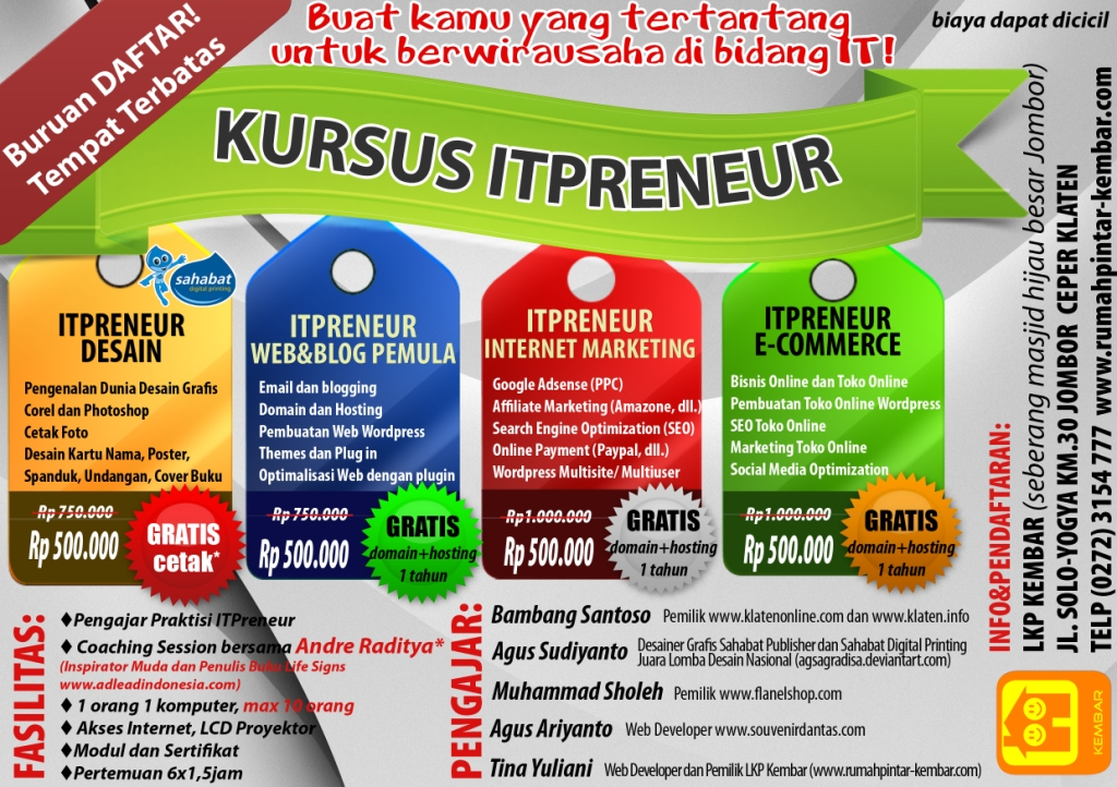 KURSUS IT PRENEUR