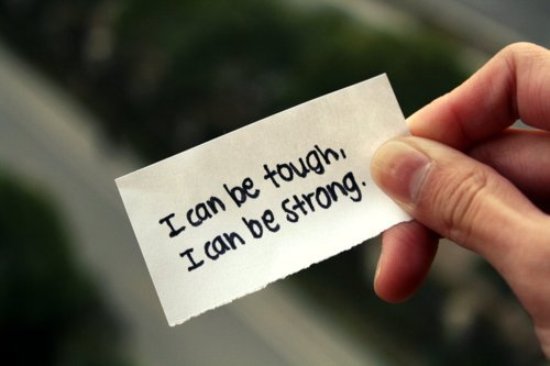 i can be strong